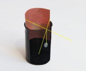 Camera Obscura mit Negativ - The 7th Day