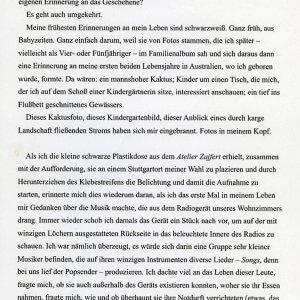 Heinrich Steinfest, Blow In, Was ist eigentlich ein Foto..., Vermessung der Zeit, Literaturhaus Stuttgart