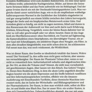 Dorothea Dieckmann: Könlg Adam und die Black Box