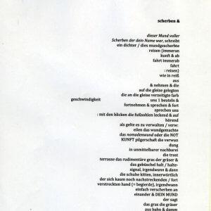 José F. A. Oliver, gedicht 1